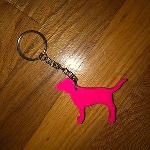 Victoria Secret PINK Dog Keychain